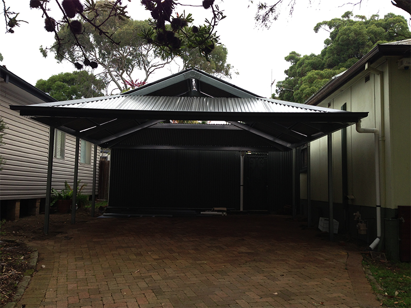 Dutch Gable Roof Carport