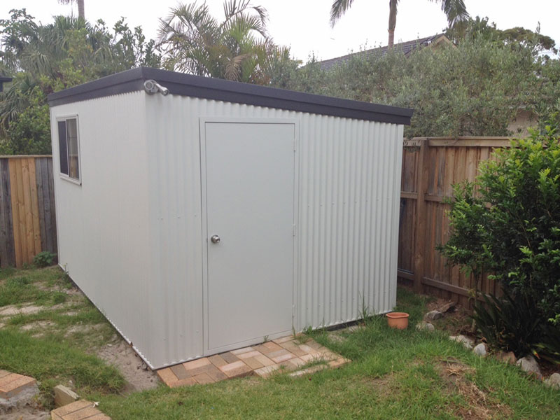 Skillion Roof Shed